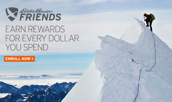Eddie Bauer Friends - Earn Rewards For Every Dollar You Spend