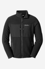 Men's Crux Fleece Jacket in Black