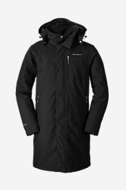 Men's Mainstay Insulated Trench in Black