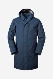 Men's Mainstay Insulated Trench in Blue