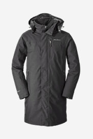 Men's Mainstay Insulated Trench in Gray