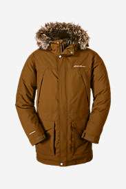 Men's Superior Down Parka in Brown