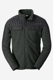Men's MicroTherm® Hybrid Sweater in Gray