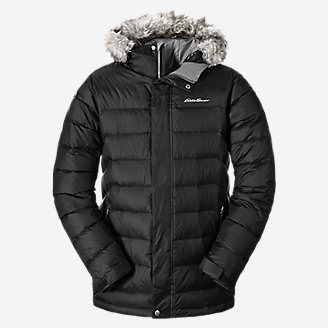 Men's Boundary Pass Parka in Black