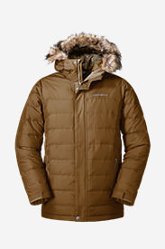 Men's Boundary Pass Parka in Brown