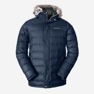 Men's Boundary Pass Parka in Blue