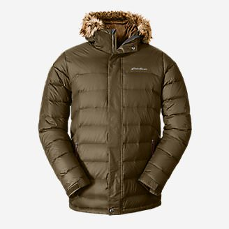 Men's Boundary Pass Parka in Green