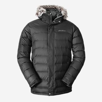Men's Boundary Pass Parka in Gray