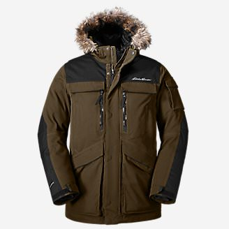 Men's Vinson Down Parka in Green
