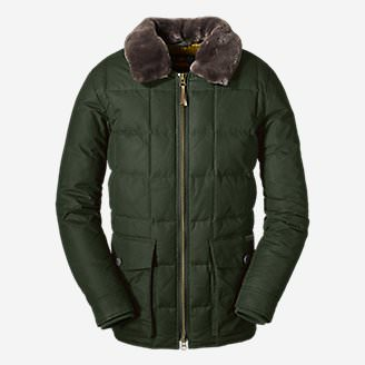 Men's Yukon Classic Down Parka in Green