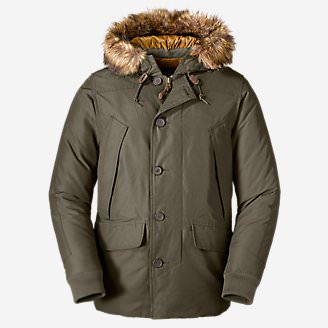 Men's B-9 Down Parka in Green
