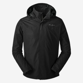 Men's Rainfoil Packable Jacket in Black