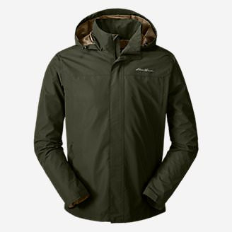 Men's Rainfoil Packable Jacket in Green