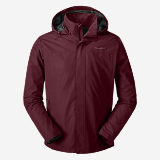 Men's Rainfoil Packable Jacket in Red