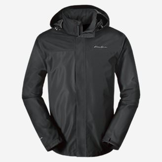 Men's Rainfoil Packable Jacket in Gray