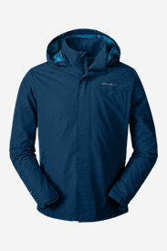 Men's Rainfoil Packable Jacket in Blue