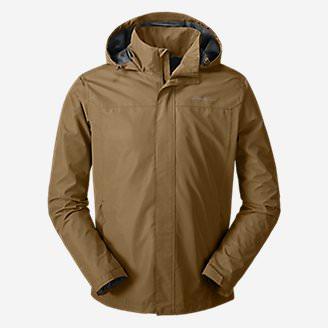 Men's Rainfoil Packable Jacket in Brown
