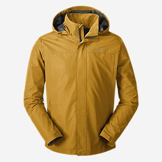 Men's Rainfoil Packable Jacket in Yellow