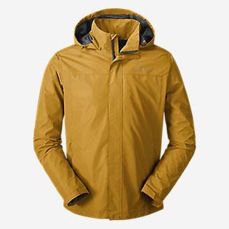 Men's Rainfoil Packable Jacket in Yellow