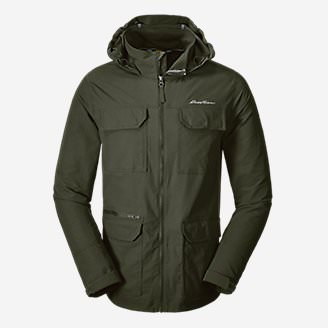 Men's Atlas Stretch Hooded Jacket in Green