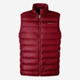 Men's CirrusLite Down Vest in Red