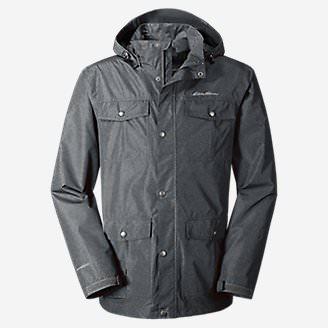 Men's Rainfoil® Utility Jacket in Gray