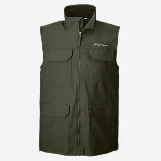 Men's Atlas Stretch Vest in Green