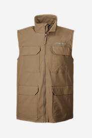 Men's Atlas Stretch Vest in Beige