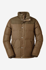 Men's Noble Down Jacket in Brown