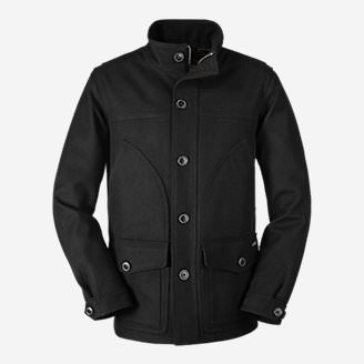 Men's Bulman Creek Jacket in Black