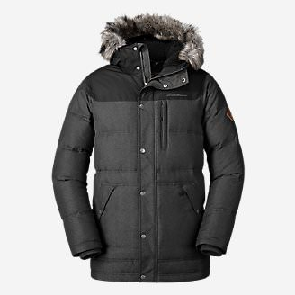 Men's Noble Down Parka in Black