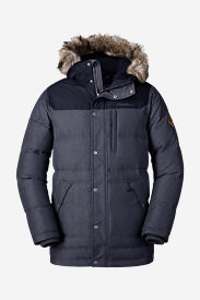 Men's Noble Down Parka in Blue