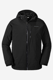 Men's Cirrus Storm Down Jacket in Black