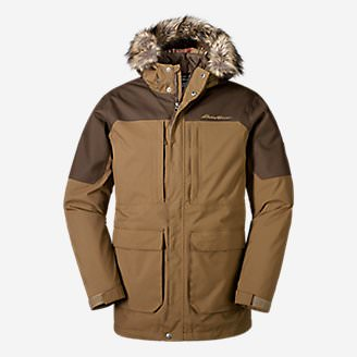Men's Chopper 3-in-1 Parka in Brown