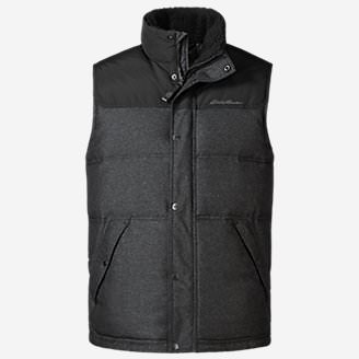 Men's Noble Down Vest in Black