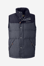 Men's Noble Down Vest in Blue