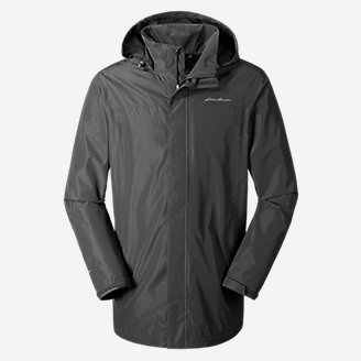 Men's Rainfoil Parka in Gray