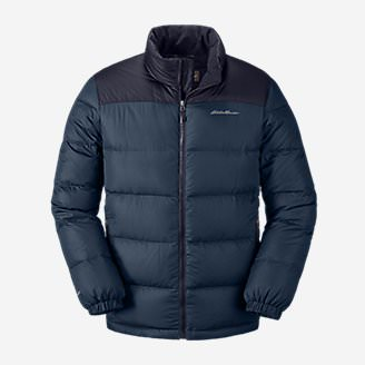 Men's Classic Down Jacket in Blue
