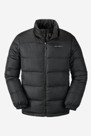 Men's Classic Down Jacket in Gray