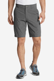 Men's Amphib Chino Shorts - Classic Fit in Gray