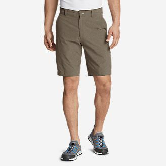 Men's Amphib Chino Shorts - Classic Fit in Brown