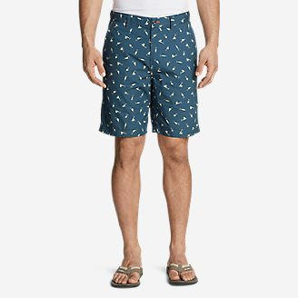 Men's Camano Shorts - Print in Blue