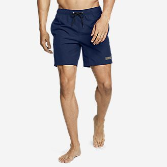 Men's Volley Swim Shorts in Blue