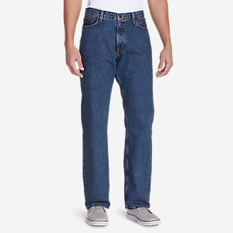 Men's Relaxed Fit Essential Jeans in Blue