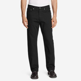 Men's Authentic Jeans - Relaxed Fit in Black