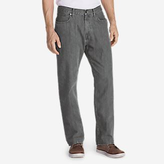 Men's Authentic Jeans - Relaxed Fit in Gray