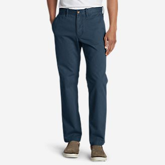 Men's Legend Wash Chino Pants - Classic Fit in Blue