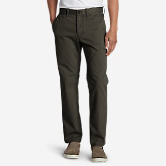 Men's Legend Wash Chino Pants - Classic Fit Tall in Green