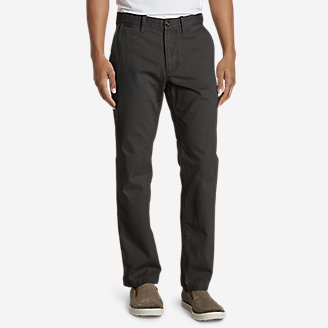 Men's Legend Wash Chino Pants - Classic Fit in Gray