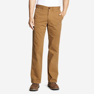 c1eeed431e180 Men's Legend Wash Chino Pants - Classic Fit in Brown